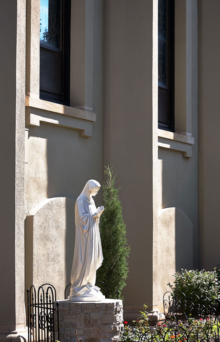 Virgin Mary Statue St. Frances Cabrini